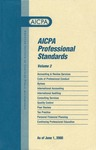 AICPA Professional Standards: accounting and Review Standards as of June 1, 2000