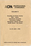 AICPA Professional Standards: Quality control as of June 1, 1985