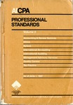 AICPA Professional Standards: Quality control as of June 1, 1987