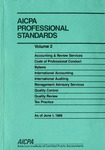 AICPA Professional Standards: Quality control as of June 1, 1989