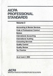 AICPA Professional Standards: Quality control as of June 1, 1992;