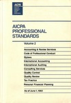 AICPA Professional Standards: Quality control as of June 1, 1993