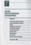 AICPA Professional Standards: Quality control as of June 1, 1994