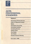 AICPA Professional Standards: Quality control as of June 1, 1995