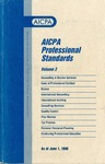 AICPA Professional Standards: Quality control as of June 1, 1998