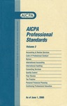 AICPA Professional Standards: Quality control as of June 1, 2000