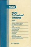 AICPA Professional Standards: Quality control as of June 1, 2002
