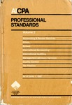 AICPA Professional Standards: Management advisory services as of June 1, 1987