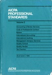 AICPA Professional Standards: Management advisory services as of June 1, 1990
