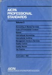 AICPA Professional Standards: Management advisory services as of June 1, 1991