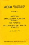 AICPA Professional Standards: Management advisory services practice standards as of June 1, 1981