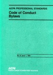 AICPA Professional Standards: Code of Conduct, Bylaws, as of June 1, 1991;  Code of Conduct as of June 1, 1991;  Bylaws as of June 1, 1991