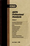AICPA Professional Standards: Continuing professional education as of June 1, 1999