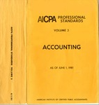 AICPA Professional Standards: accounting Current Text as of June 1, 1981