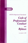 AICPA professional standards: Code of professional conduct and bylaws as of April 1, 1999;  Code of professional conduct as of April 1, 1999;  Bylaws as of April 1, 1999