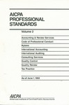 AICPA professional standards: Code of professional conduct and bylaws as of June 1, 1992;  Code of professional conduct as of June 1, 1992;  Bylaws as of June 1, 1992