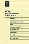 AICPA professional standards: Code of professional conduct and bylaws as of June 1, 1993