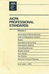 AICPA professional standards: Code of professional conduct and bylaws as of June 1, 1995;  Code of professional conduct as of June 1, 1995;  Bylaws as of June 1, 1995