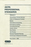 AICPA professional standards: Code of professional conduct and bylaws as of June 1, 1996