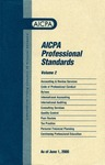 AICPA professional standards: Code of professional conduct and bylaws as of June 1, 2000