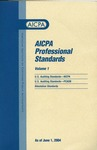 AICPA Professional Standards: Public Companies Accounting Oversight Board standards and audits of public companies as of June 1, 2004 by American Institute of Certified Public Accountants. Public Company Accounting Oversight Board