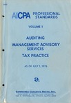 AICPA Professional Standards: Auditing as of July 1, 1976