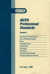 AICPA professional standards: Code of professional conduct and bylaws as of June 1, 2006 by American Institute of Certified Public Accountants