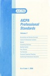 AICPA Professional Standards: accounting and Review Services as of June 1, 2006