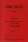 AICPA Professional Standards: auditing as of July 1, 1977
