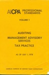 AICPA Professional Standards: auditing as of July 1, 1978