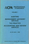 AICPA Professional Standards: auditing as of June 1, 1980