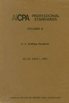 AICPA Professional Standards: U.S. Auditing Standards as of June 1, 1983