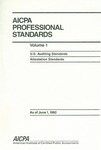 AICPA Professional Standards: U.S. Auditing Standards as of June 1, 1992