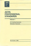 AICPA Professional Standards: U.S. Auditing Standards as of June 1, 1993
