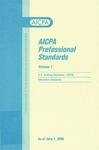 AICPA Professional Standards: U.S. Auditing Standards as of June 1, 2006 by American Institute of Certified Public Accountants
