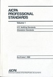 AICPA Professional Standards: attestation Standards as of June 1, 1992