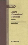 AICPA Professional Standards: Attestation Standards as of June 1, 1999