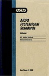 AICPA Professional Standards: Attestation Standards as of June 1, 2000