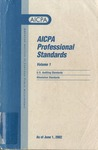AICPA Professional Standards: Attestation Standards as of June 1, 2002