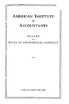 By-laws and rules of professional conduct, 1942;  Rules of professional conduct, 1942