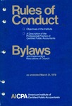 Rules of conduct as amended March 31, 1978;  Bylaws and implementing resolutions of Council as amended March 31, 1978