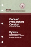 Code of professional conduct as amended May 20, 1991;  Bylaws and implementing resolutions of Council as amended January 8, 1990 [1991]