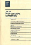 AICPA Professional Standards: Statement on standards for consulting services as of June 1, 1993