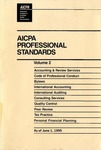 AICPA Professional Standards: Statement on standards for consulting services as of June 1, 1995