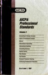 AICPA Professional Standards: Statement on standards for consulting services as of June 1, 1997