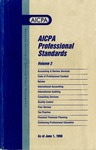 AICPA Professional Standards: Statement on standards for consulting services as of June 1, 1998