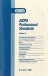AICPA Professional Standards: Statement on standards for consulting services as of June 1, 2000