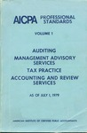 AICPA Professional Standards: Statements of management advisory services as of July 1, 1979