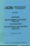 AICPA Professional Standards: Statements of management advisory services as of June 1, 1980