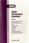 AICPA Professional Standards: Statement on responsibilities in personal financial planning practice as of June 1, 2003